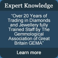 Better returns on cash for diamonds due to our expert knowledge.